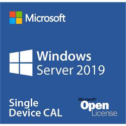 Microsoft Windows Server 2019 - Licence - 1 User CAL - Volume