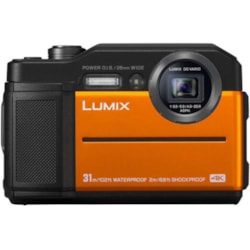 Panasonic Lumix DC-FT7 20.4 Megapixel Digital Camera Orange
