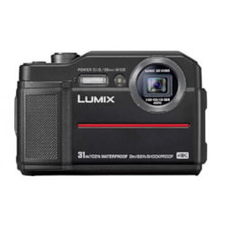 Panasonic Lumix DC-FT7 20.4 Megapixel Digital Camera Black