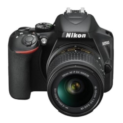 Nikon DSLR Camera D3500 + 18-55MM Lens Kit (1 Box) 24.2MP,Black,