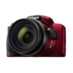 Nikon Digital Compact Camera Coolpix B600, Red , 16MP, 60X Optical Zoom, Fixed Lens Mini Hdmi