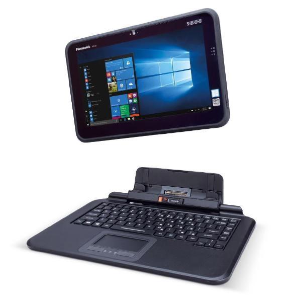 """Panasonic (Ex Demo) Panasonic Toughpad FZ-Q2 (12.5"""" Semi-Rugged Tablet) MK1 - 4GB Ram, 128GB SSD With Detachable Keyboard"""
