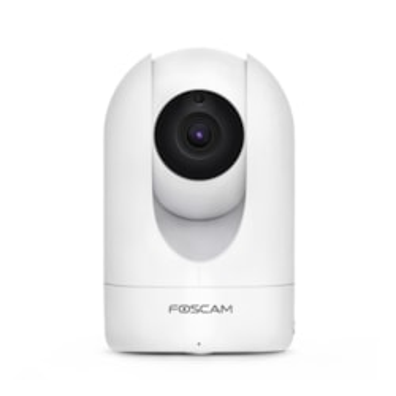 Foscam R4 4MP Uhd 25FPS Wireless Pan/Tilt, 8M Ir, Microsd, White