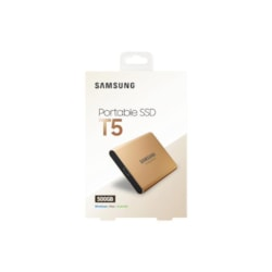Samsung T5 Portable SSD 500GB/Up To 540MB/Sec Transfer speed/Rose Gold/51G
