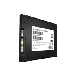 "HP SSD S700 Pro 2.5"" Sata 512GB, 3D TLC Dram Cache With HP Controller H6028 And 560/520 Max R/W"