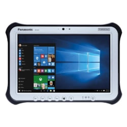 "Panasonic Toughpad FZ-G1 (10.1"") MK5 With 256GB SSD ( 210 Hours Of Usage In Bios And Missing Bag For Tether)"