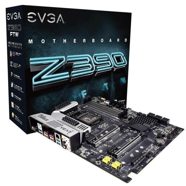 Evga Z390 FTW, 123-Cs-E397-Kr, Lga 1151, Intel Z390, Sata 6Gb/s, Usb 3.1, Usb 3.0, Atx, Intel Motherboard