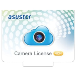 Asustor NVR 4CH Camera License Package
