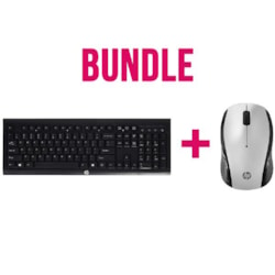 HP Bundle HP Wireless Keyboard And Mouse ( 2 Boxes)