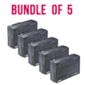 PowerShield SafeGuard 750Va/450W Line Interactive, Powerboard Style Ups With Avr, Telephone Or Modem Surge Protection. Wall Mountable. Bundle Of 5.