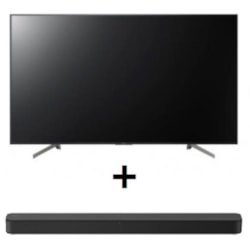"""Sony Bravia 65"""" Entry QFHD 4K(3840x2160), HDR10/ HLG, Android, RS232, 3 Year Onsite Warranty, 17/7 ***Value Sony Sound Bar Bundle Deal***"""