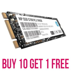 HP Bundle Buy 10 X 2Lu80aa-500Gb And Get 1 Free - Valid On Stock On Hand Only!