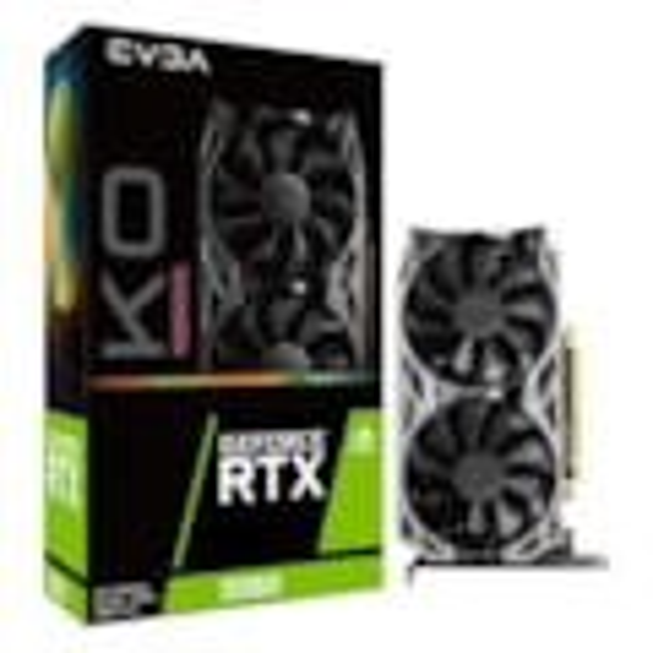 Evga GeForce RTX 2060 Ko Ultra Gaming, 06G-P4-2068-KR, 6GB GDDR6, Dual Fans, Metal Backplate