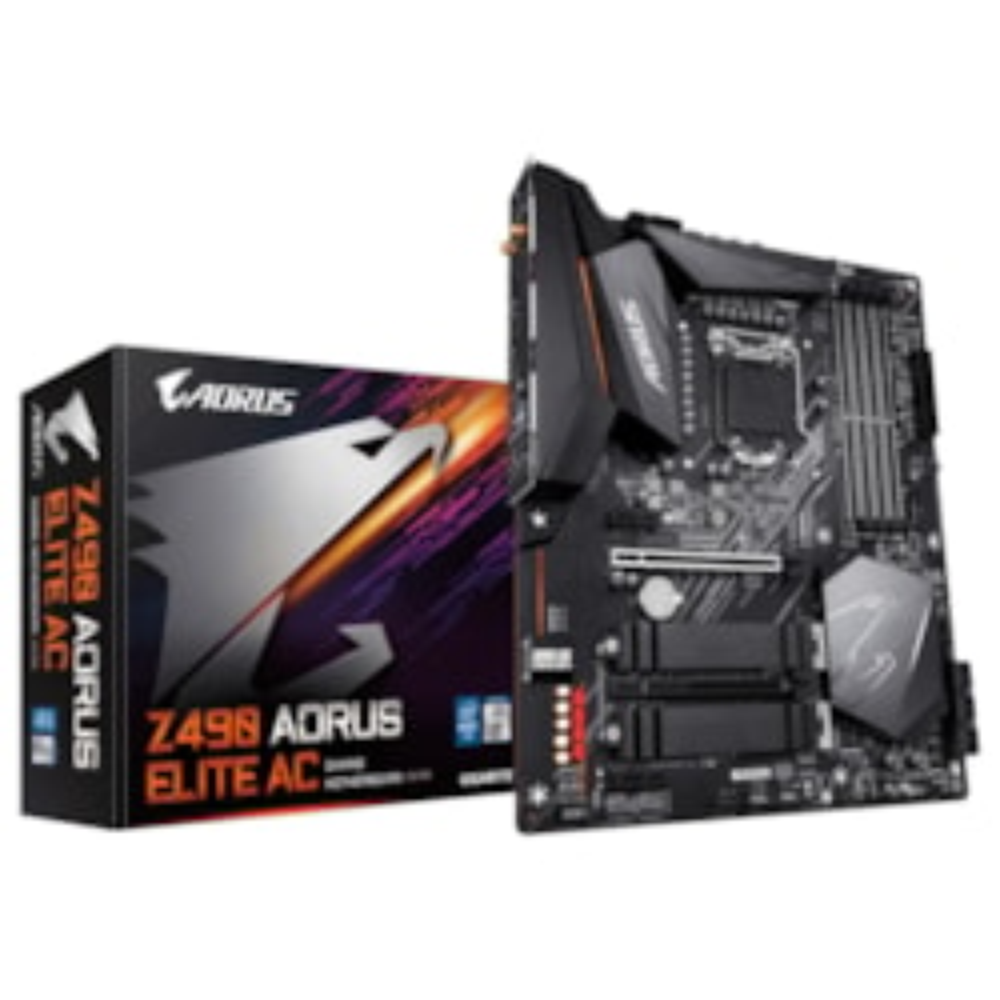 Gigabyte Z490 Aorus Elite Ac MB,1200, 4xDDR4,6xSATA, 3xM.2, 2xUSB3.2 Gen2,WIFI-AC, Atx,3Yr