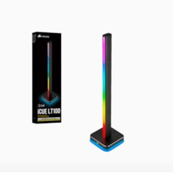 Corsair Icue LT100 Smart Lighting Tower Expansion Kit (Requires Icue LT100 Smart Lighting Towers Starter Kit, Expandable Up To 4 Towers)
