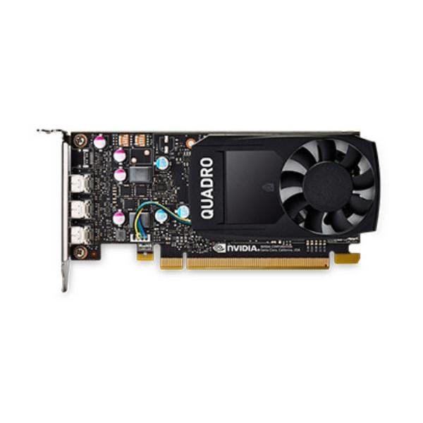 Leadtek Quadro P400 Work Station Graphic Card Pcie 2GB DDR5, 3H (mDP), Single Slot, 1xFan, Atx, Low Profile