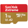 SanDisk 1TB Extreme microSD SDHC Sqxaf V30 U3 C10 A1 Uhs-1 160MB/s R 90MB/s W 4X6 SD Adaptor Android Smartphone Action Camera Drones