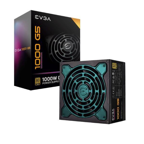 Evga Psu (Full-Modular), 1000W, 80+ Gold 92%, SuperNOVA G5, 135MM Fan, Multiple Rail, 10 Year Warranty