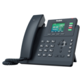 Yealink T33G 4 Line Ip Phone, 320X240 Colour Display, Dual Gigabit Ports, PoE. No Power Adapter Included