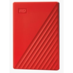 """Western Digital WD MY Paspport 4TB Red 2.5"""" Portable Harddrive"""