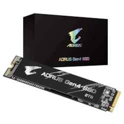Gigabyte 2TB Aorus NVMe M.2 PCIe4 SSD, Up To Read 5000MB/s, Write 4400MB/s, 5YR WTY