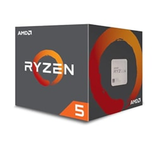Amd Ryzen 5 1600Af Yd1600bbafbox 6 Core/12 Threads Am4 Cpu, 12NM, 2ND Gen (Amdcpu)