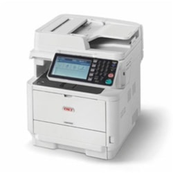 Oki MB562DNW Mono A4 45PPM Network Wirelss Airprnt PCL PS Dup Adf 630 Sheet +Options 4-In-1 MFP