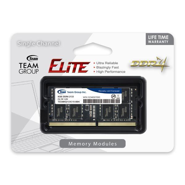 Team Elite Sodimm PC17000 DDR4 2133MHz