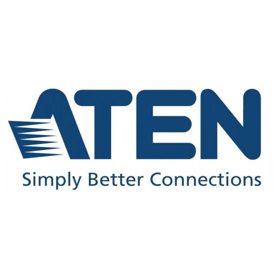 Aten (Cs1922m-At-U) 2 Port Usb 3.0 4K DisplayPort KVMP Switch With Build In MST Hub. Support HDCP, 4096 &Times; 2160 @ 60Hz, DP 1.2, Mouse Emulation, Keyboard Emu