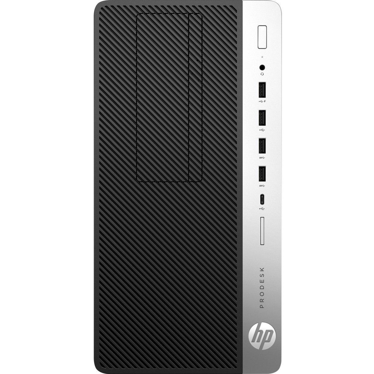 HP Business Desktop ProDesk 600 G3 Desktop Computer - Intel Core i5 (7th Gen) i5-7500 3.40 GHz - 8 GB DDR4 SDRAM - 1 TB HDD - Windows 10 Pro 64-bit - Micro Tower