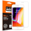 IPHONE 8 SCREEN PROTECTOR, GENUINE SPIGEN GLAS.TR SLIM TEMPERED GLASS FOR APPLE [COLOUR:CLEAR]