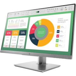 "PWC - HP E223 54.6 cm (21.5"") Full HD LED LCD Monitor - 16:9 - Silver, Black"
