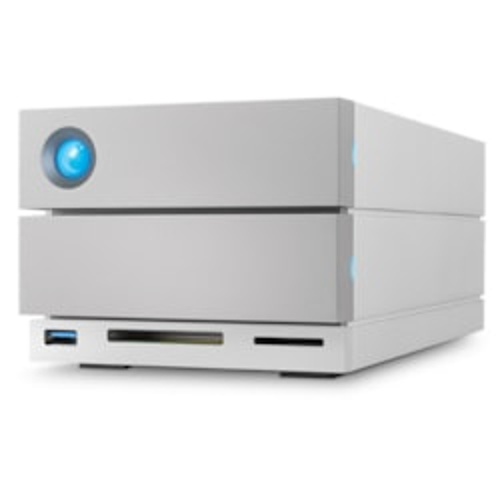 LaCie 2big Dock STGB16000400 2 x Total Bays DAS Storage System - Desktop