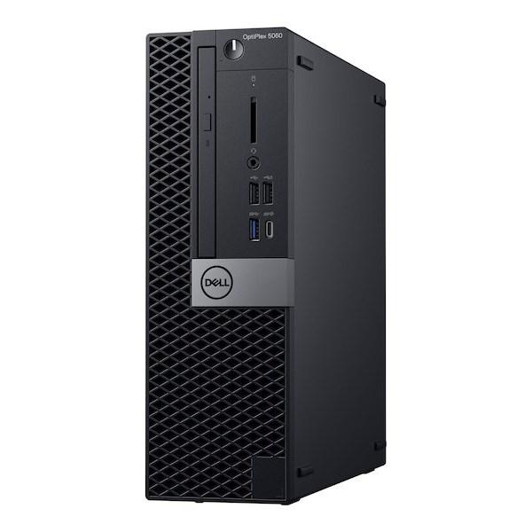 Dell Optiplex 5060 SFF, I7-8700, 16GB, 512GB SSD, DVDRW, No-Wl, W10P, 3Yos