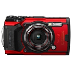 Olympus Stylus Tough TG-6 Red - 12MP, 4X Optical Zoom, Waterproof, Dustproof,Shockproof, 4K Movie , Field Sensors. 1 Year WTY.