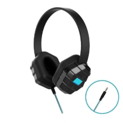 Gumdrop DropTech B1 Rugged Headphones - Compatible With All Devices With A 3.5MM Headphone Jack (Bulk Packaged In Poly Bag - No Retail Packaging)