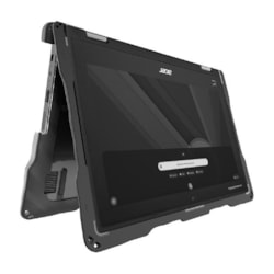 Gumdrop DropTech For Acer Chromebook Spin 511/R752TN 2-In-1 Rugged Case - Designed For: Acer Spin 511/R752TN 2-In-1 (VPN Nx.H93sa.001, Nx.H90sa.002)