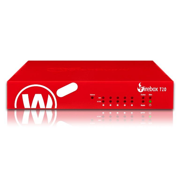 WatchGuard Firebox T20 With 1-YR Basic Security Suite (WW)
