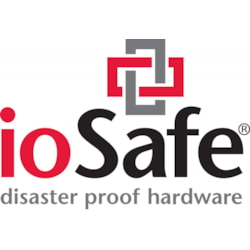 ioSafe 218 6TB (3TBx2) Nas - Two Bay Fireproof/Waterproof Nas Device With Raid 1, Powered BY Synology