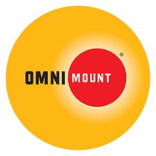 "Omnimount 37"" - 55"" Flat Panel Mount TV Display Bracket With Tilt 36KG Max, 400X400 Vesa Max"