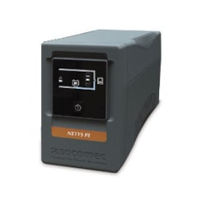 Socomec NeTYS Pe 650Va Tower Ups Line Interactive Quasi Sinewave 650Va LCD Display