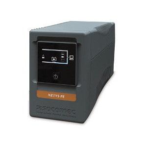 Socomec NeTYS Pe 850Va Tower Ups Line Interactive Quasi Sinewave 850Va LCD Display