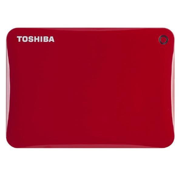 Toshiba Canvio Connect II 2 TB Hard Drive - External - Portable