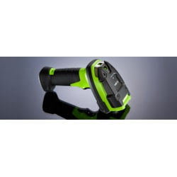 Zebra DS3608-SR Handheld Barcode Scanner - Cable Connectivity - Industrial Green