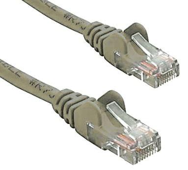 8Ware RJ45M - RJ45M Cat5E Network Cable 50CM - Grey