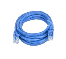 8Ware Cat 6A Utp Ethernet Cable, Snagless  - 2M Blue