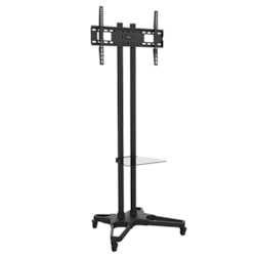 "Brateck Portable TV Cart w/Castors - Fits LCD Screen Sizes 37"" – 70"""