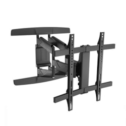 "Brateck New Full-Motion Wall Mount Bracket For Most 32""-65"" Curved &Amp; Flat Panel TVs"