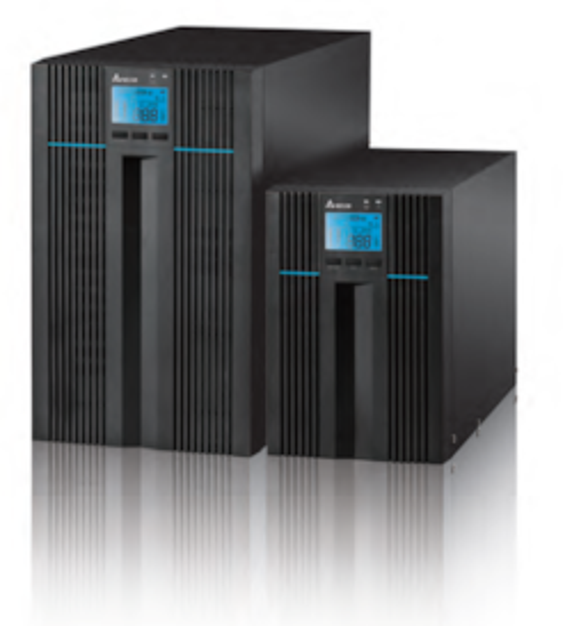 Delta N-Series Pro On-Line 1kVA / 0.9kW Tower Ups