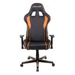 DXRacer F Series Gaming Chair, Sparco Style, Neck/Lumbar Support - Black &Amp; Orange